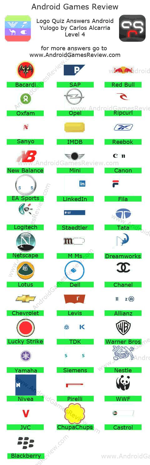 logos quiz answers level 4 part 1 http funny videos eu logos quiz ...